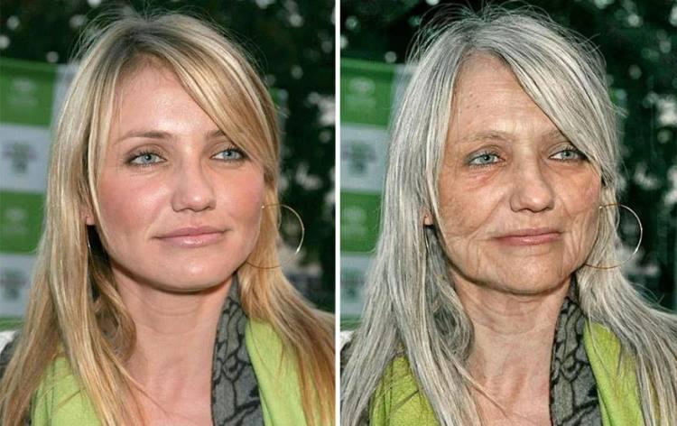 Фото людей моложе своего возраста