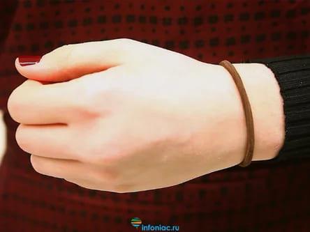 Резинки для волос в качестве браслетов