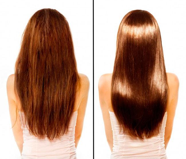 Банановое пюре сделает ваши волосы густыми и блестящими
