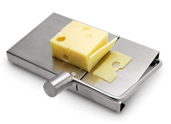 Для идеально ровных и тонких ломтиков сыра