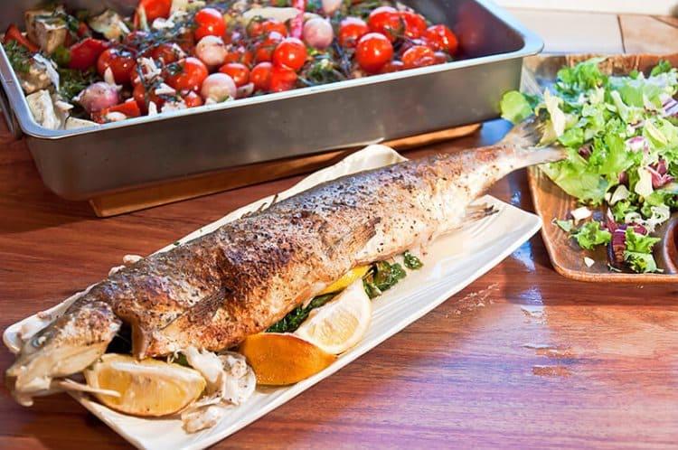 Жирная морская рыба