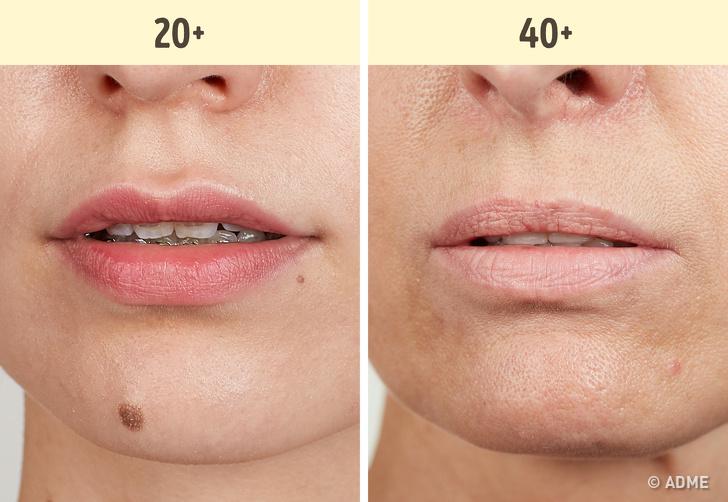 Бледные губы