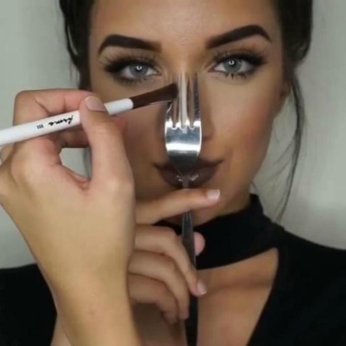 Контуринг носа
