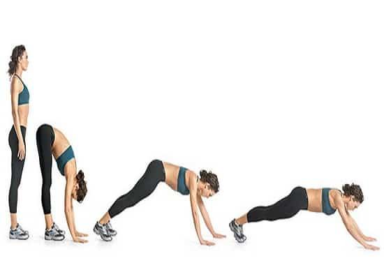 Упражнение «Червь» сжигает жир