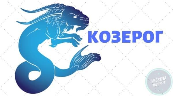Козерог (22 декабря — 19 января)