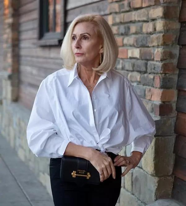 Белая блузка – маст-хэв