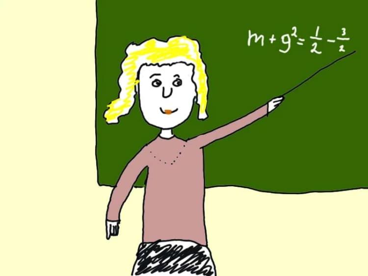 Если учительница ставит двойки (а еще носит короткую юбку)