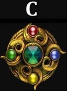 Магический символ С