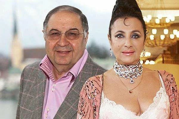 Ирина Винер, жена Алишера Усманова Муж – Алишер