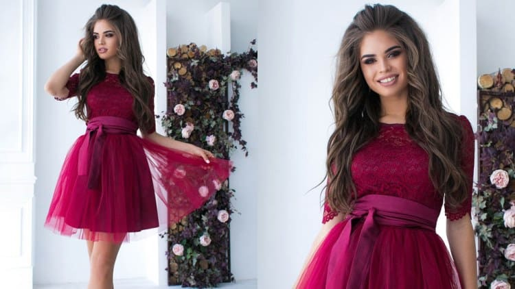 Платье бейби-долл