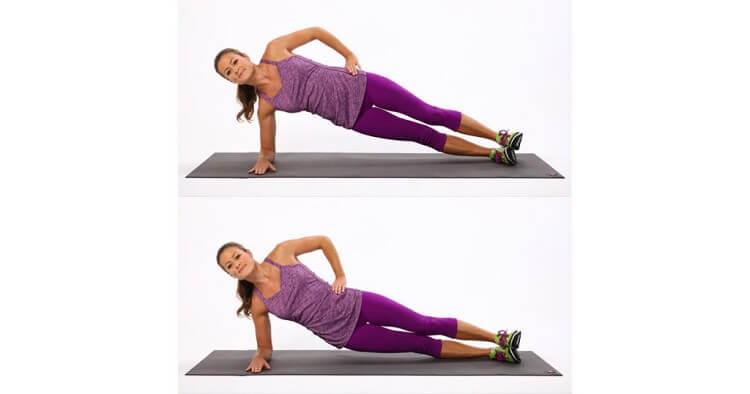 Упражнение № 5 Боковая планка