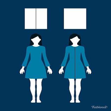 5 оптических иллюзий которые сделают вас стройнее