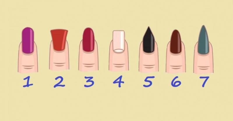 Тест: что выдает форма ваших ногтей
