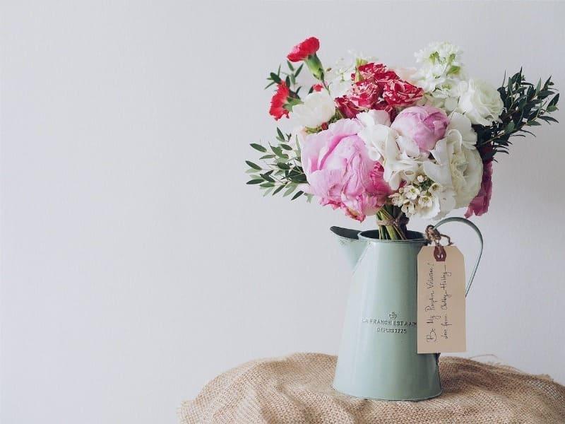 Букет свежих цветов