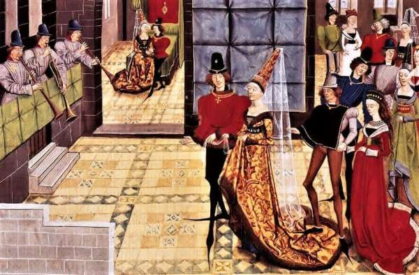 А вы знали, почему европейские мужчины средневековья носили причудливые туфли с длинными носками?