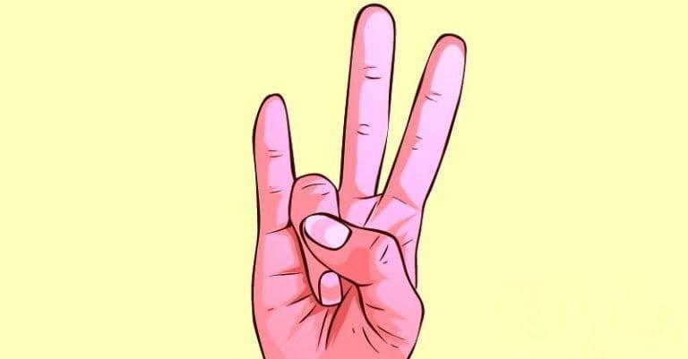 Большой и безымянный пальцы