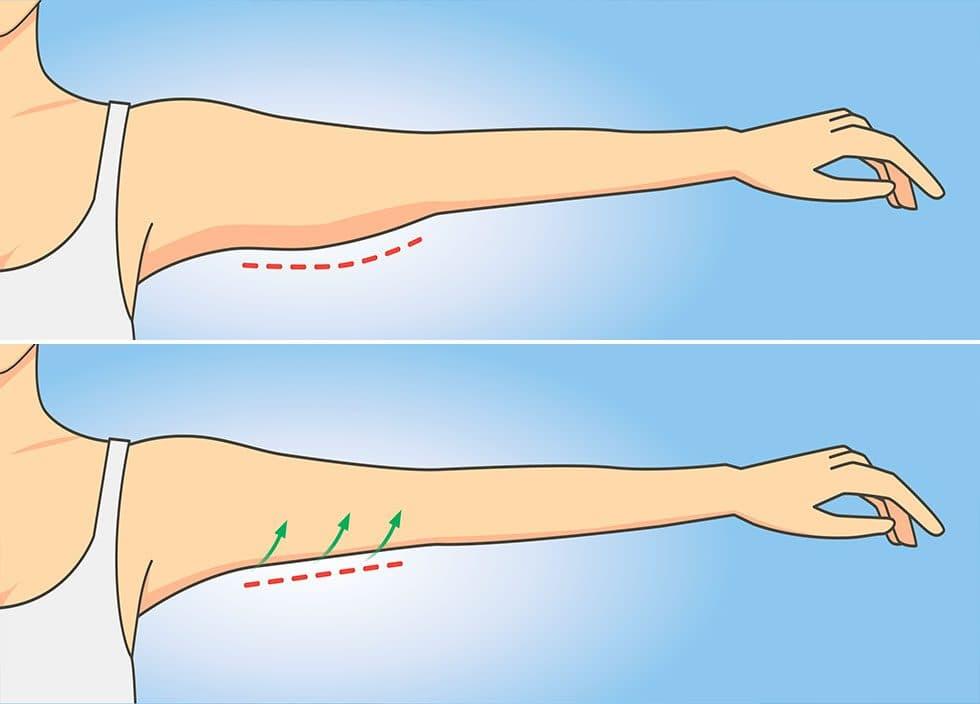 Упражнения, которые избавят от дряблой кожи на руках за 1 неделю и займут всего по 1 минуте!
