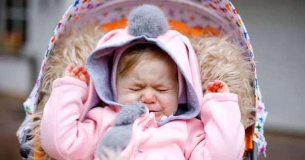Папочка, там же малыш плачет! Куда ты уходишь?