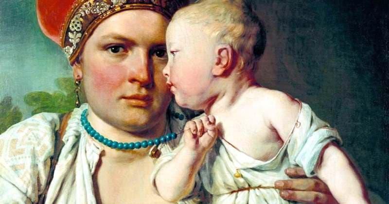 Почему женщины на Руси кормили детей грудью почти до 5 лет