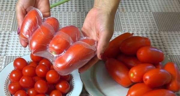 Свежий плод будет радовать целый год. Занятный способ хранения помидоров